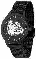 Gonzaga Bulldogs Black Dial Mesh Statement Watch