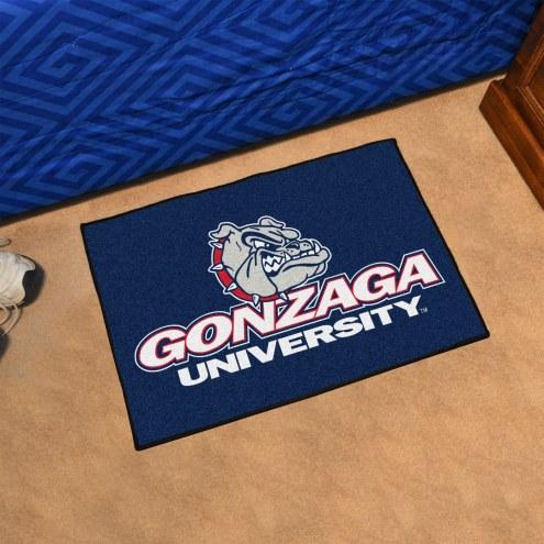 Gonzaga Bulldogs Blue Starter Rug