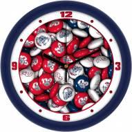 Gonzaga Bulldogs Candy Wall Clock