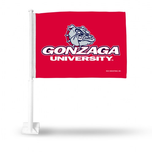 Gonzaga Bulldogs Car Flag
