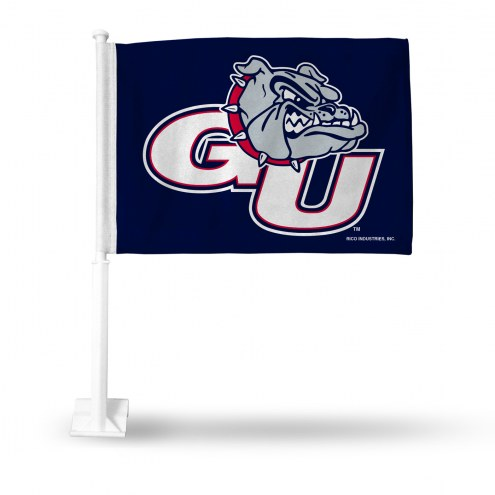 Gonzaga Bulldogs College Car Flag