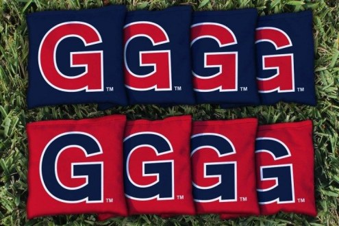 Gonzaga Bulldogs College Vault Cornhole Bag Set