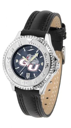 Gonzaga Bulldogs Competitor AnoChrome Women's Watch