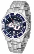 Gonzaga Bulldogs Competitor Steel AnoChrome Color Bezel Men's Watch