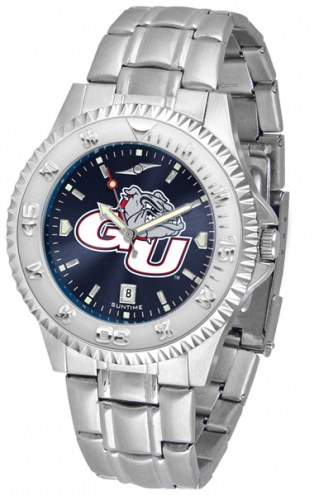 Gonzaga Bulldogs Competitor Steel AnoChrome Men's Watch