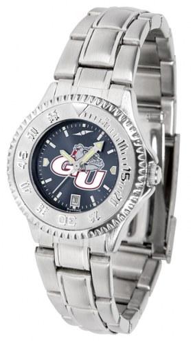 Gonzaga Bulldogs Competitor Steel AnoChrome Women's Watch