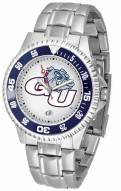 Gonzaga Bulldogs Competitor Steel Men's Watch