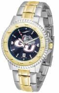 Gonzaga Bulldogs Competitor Two-Tone AnoChrome Men's Watch