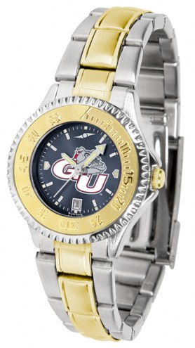 Gonzaga Bulldogs Competitor Two-Tone AnoChrome Women's Watch