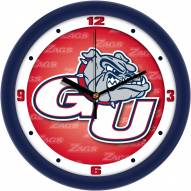Gonzaga Bulldogs Dimension Wall Clock