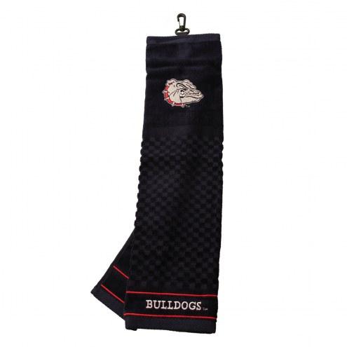 Gonzaga Bulldogs Embroidered Golf Towel