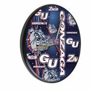 Gonzaga Bulldogs Digitally Printed Wood Clock