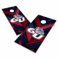 Gonzaga Bulldogs Herringbone Cornhole Game Set