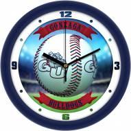 Gonzaga Bulldogs Home Run Wall Clock