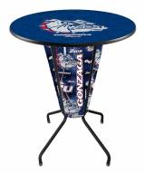 Gonzaga Bulldogs Indoor Lighted Pub Table
