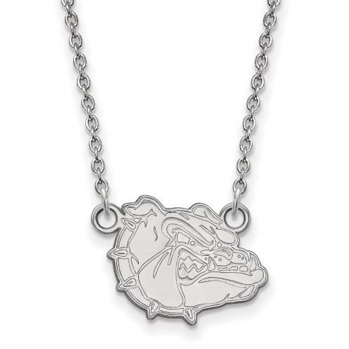 Gonzaga Bulldogs Sterling Silver Small Pendant Necklace
