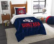 Gonzaga Bulldogs Modern Take Twin Comforter Set