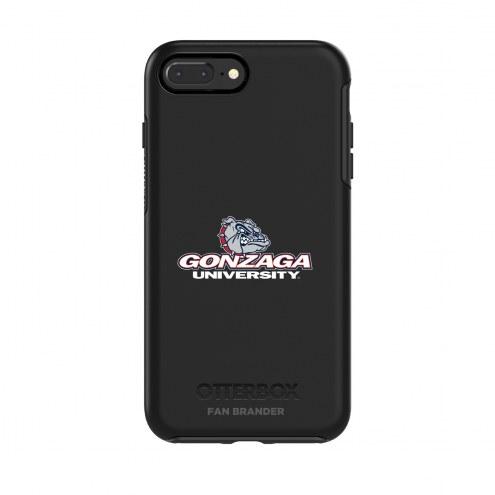 Gonzaga Bulldogs OtterBox iPhone 8/7 Symmetry Black Case