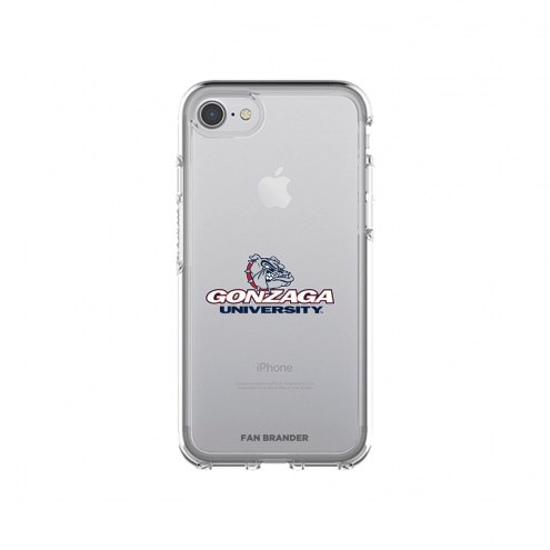 Gonzaga Bulldogs OtterBox iPhone 8/7 Symmetry Clear Case