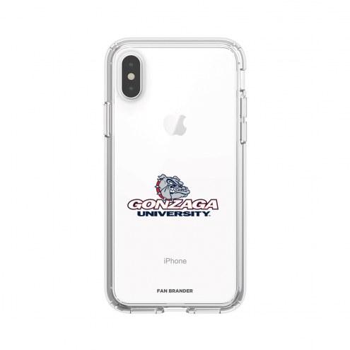 Gonzaga Bulldogs OtterBox iPhone 8 Plus/7 Plus Symmetry Black Case