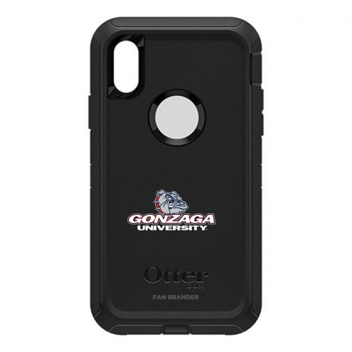 Gonzaga Bulldogs OtterBox iPhone X/Xs Defender Black Case