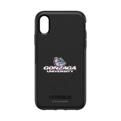 Gonzaga Bulldogs OtterBox iPhone XR Symmetry Black Case