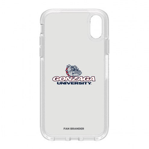 Gonzaga Bulldogs OtterBox iPhone XR Symmetry Clear Case