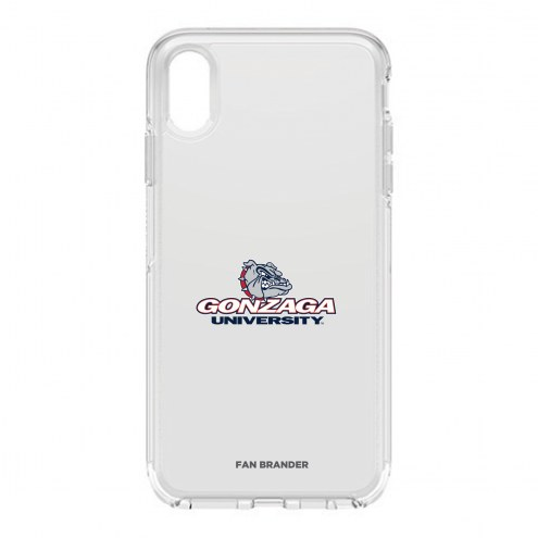 Gonzaga Bulldogs OtterBox iPhone XS Max Symmetry Clear Case