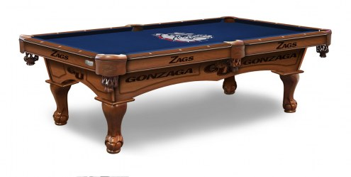 Gonzaga Bulldogs Pool Table
