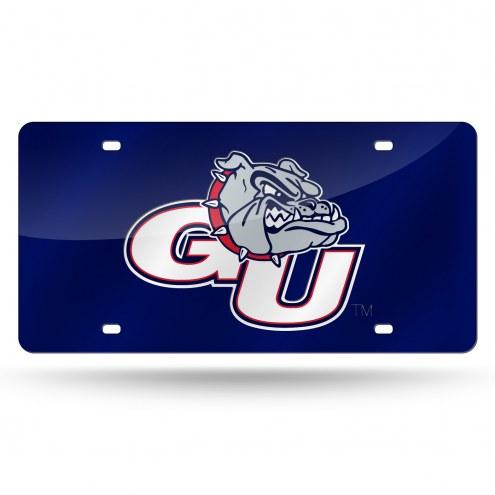 Gonzaga Bulldogs Laser Cut License Plate