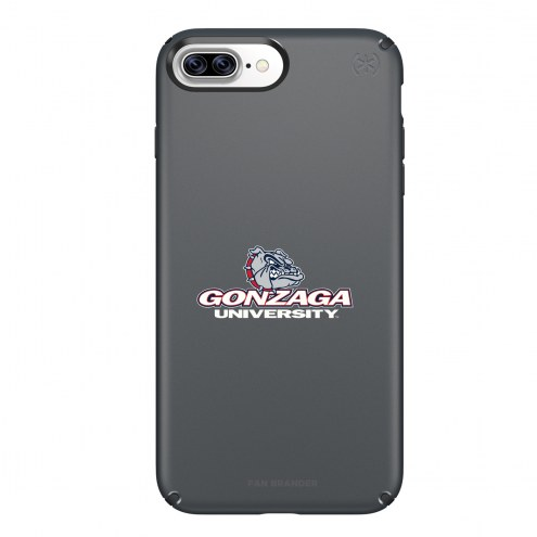 Gonzaga Bulldogs Speck iPhone 8 Plus/7 Plus Presidio Black Case
