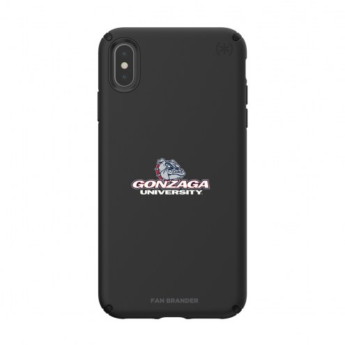 Gonzaga Bulldogs Speck iPhone XS Max Presidio Pro Black Case