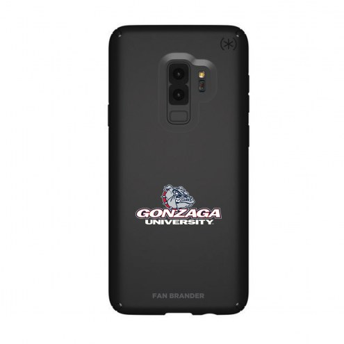Gonzaga Bulldogs Speck Samsung Galaxy S9+ Presidio Black Case