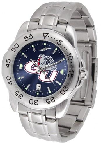Gonzaga Bulldogs Sport Steel AnoChrome Men's Watch
