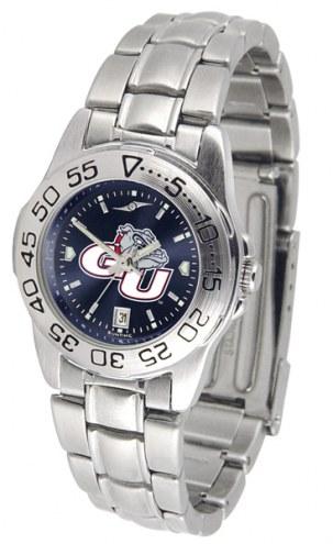 Gonzaga Bulldogs Sport Steel AnoChrome Women's Watch