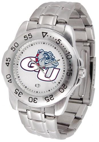 Gonzaga Bulldogs Sport Steel Men's Watch