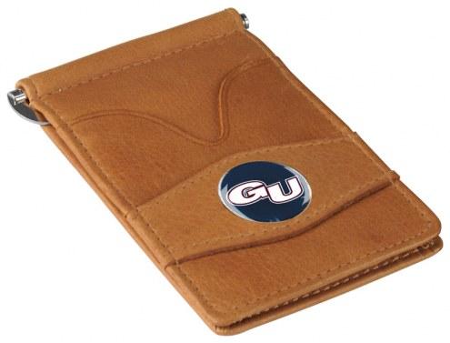 Gonzaga Bulldogs Tan Player's Wallet