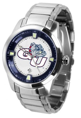 Gonzaga Bulldogs Titan Steel Men's Watch