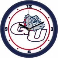 Gonzaga Bulldogs Traditional Wall Clock