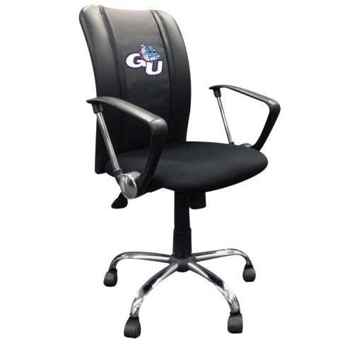Gonzaga Bulldogs XZipit Curve Desk Chair