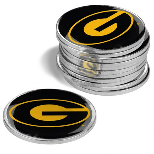 Grambling State Tigers 12-Pack Golf Ball Markers