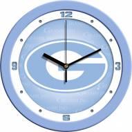 Grambling State Tigers Baby Blue Wall Clock