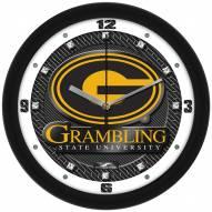 Grambling State Tigers Carbon Fiber Wall Clock