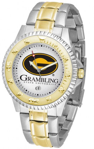 Grambling State Tigers Competitor Two-Tone Men's Watch