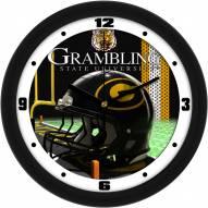 Grambling State Tigers Football Helmet Wall Clock