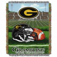 Grambling State Tigers Home Field Advantage Throw Blanket