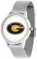 Grambling State Tigers Silver Mesh Statement Watch