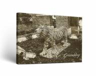 Grambling State Tigers Sketch Canvas Wall Art