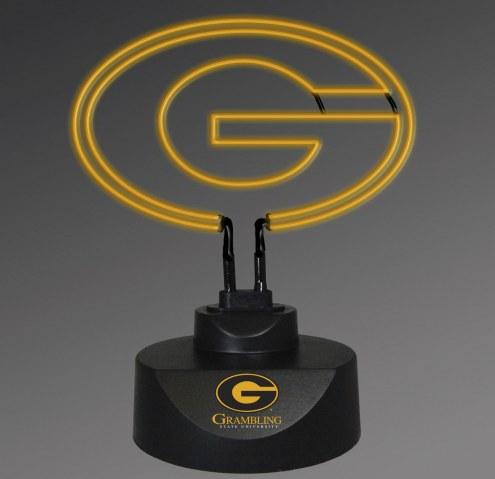 Grambling State Tigers Team Logo Neon Lamp