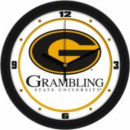Grambling State Tigers Traditional Wall Clock